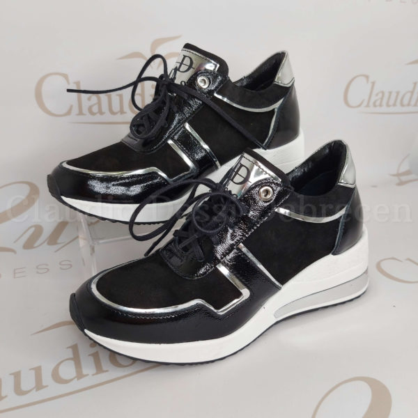 Lux by Dessi 738/1 feketeE sneaker