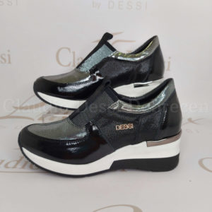 Lux by Dessi F882 feketeE slipon