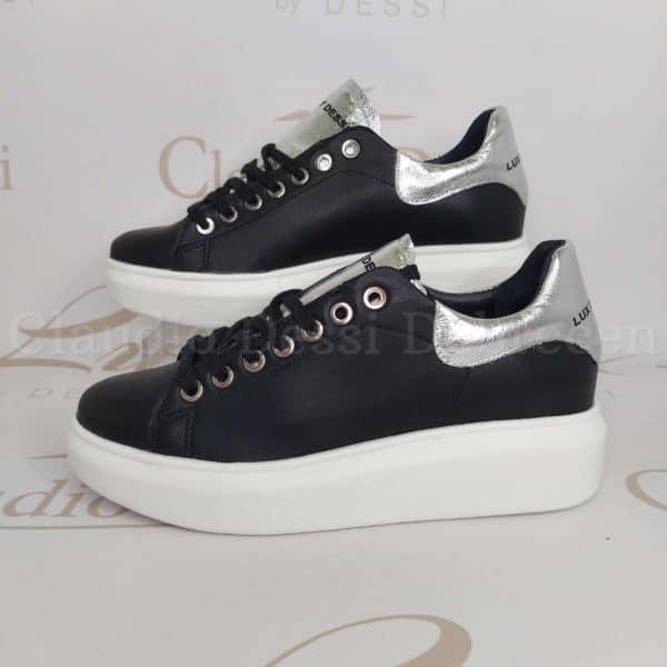Lux by Dessi Benita Skóra feketeE/S sneaker