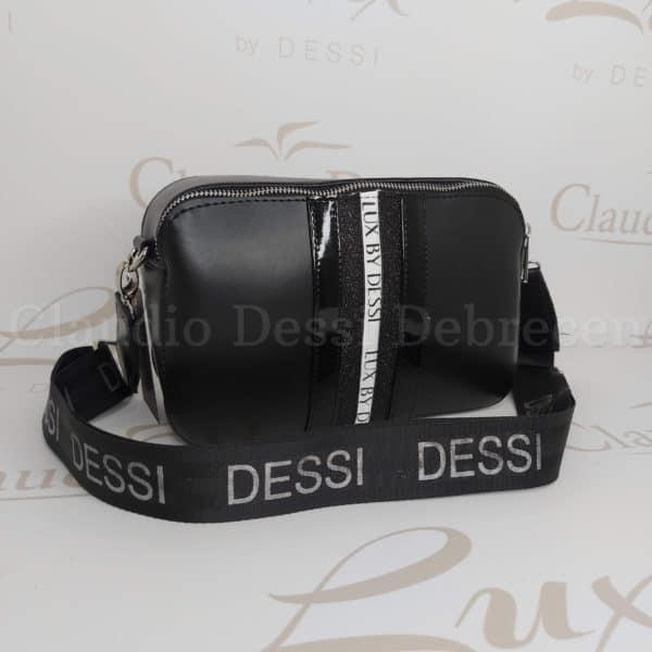 Lux by Dessi 546 feketeF oldaltáska