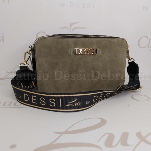 Lux by Dessi 529 khaki oldaltáska