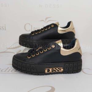 Lux by Dessi HANZA-1 fekete sneaker