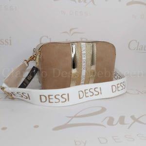 Lux by Dessi 546 bézs oldaltáska