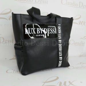 Lux by Dessi 588 fekete kézitáska